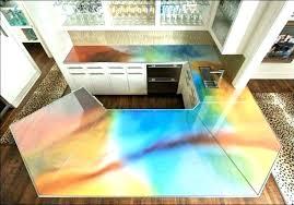 unique sea glass countertop or glass countertops 35 sea glass countertop diy