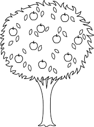 Small Picture Tree coloring pages with apples ColoringStar