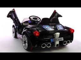 new car 2016 modelsNEW 2016 MODEL Ferrari Spider Style Kids RideOn Car MP3 12V