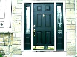 black entry door black entry door front with sidelights great screen doors and transom fr black