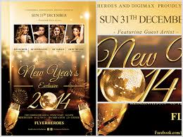 Nye Invitation / Flyer Template - Flyerheroes