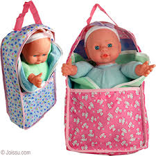 wholesale Baby Dolls in Soft Carriers bulk pricing-www.joissu.com