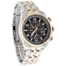 citizen eco drive at9016 56h wrist watch for men citizen eco drive mens 2tone radio control world time watch at9016 56h