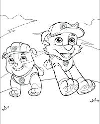 Rubble Paw Patrol Coloring Page New Coloring Pages Paw Patrol Rocky