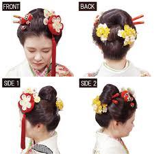 清楚な新日本髪まとめ髪コレクション成人式の髪型ヘアアレンジ