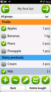 Dućanko Shopping List Manager | N9 Apps - Discover The Best Apps And ...