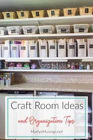 craft room makeover and organization