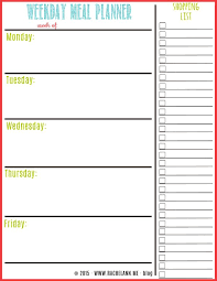 monthly meal planner template free meal plan template opnlp co