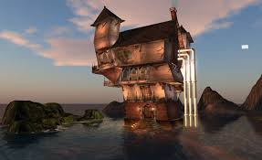 Crooked Steampunk House