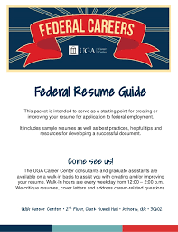 This packet is intended to serve as a starting point for creating or improving  your resume ...