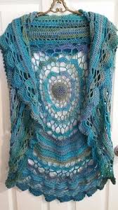 Crochet Circular Vest Pattern Free Inspiration Crochet Mandala Vest Pattern Free Google Search Blocks And