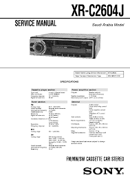 sony cd changer wiring diagram wiring diagram and schematic sony cd player wiring diagram diagrams and schematics