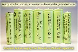 Outdoor Lighting Accessories  Outdoor Lighting  The Home DepotSolar Garden Lights Batteries Rechargeable