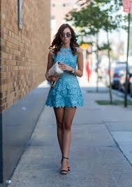 barbora ondrackova is absolutely killing it in this gorgeous sky blue dress with lace deling