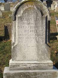 Mary Ida Weaver (1858-1929) - Find A Grave Memorial