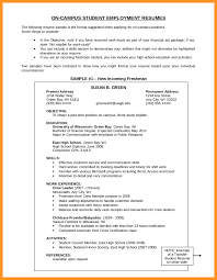 Objective Example Resume Resume Objective Samples For Any Job Bio Letter Format 33