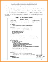 Resume Objective Samples For Any Job Bio Letter Format