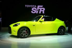 Toyota S-FR sports car concept - technical specifications leaked ...