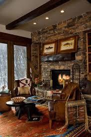 cabin decor lodge sled:  cozy cabin and lodge decorating ideas