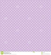 Light Purple And White Polka Dots Small White Polka Dots On Pastel Lavender Seamless