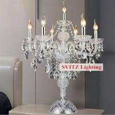 2018 chrome silver candleholder table lamp candelabra table lights dining room bedroom wedding glass candle holders from amosty 353 41 dhgate com