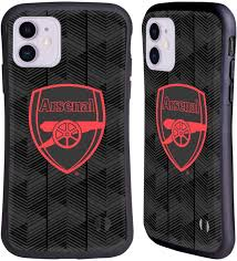 Click the logo and download it! Amazon Com Head Case Designs Officially Licensed Arsenal Fc Black Crest And Gunners Logo Hybrid Case Compatible With Apple Iphone 11
