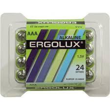 <b>Батарейки AAA</b> Ergolux LR03 BP-24 24 шт. — купить в городе ТУЛА