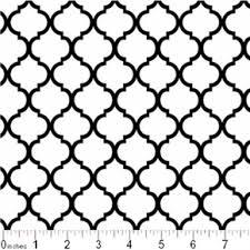 Lattice Pattern Awesome Cotton Fabric Pattern Fabric Mini Quatrefoil Lattice Pattern