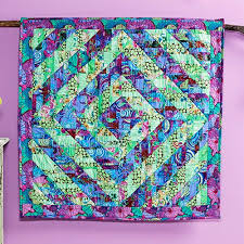 154 best Projects to Try images on Pinterest   Quilt block ... & Free pdf Pattern - Fragmented Triangles Quilt featuring the Kaffe  Collective Spring 2015 Collection Adamdwight.com