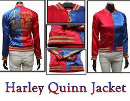 squad harley quinn jacket costume