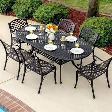 black wrought iron patio furniture. Wrought Iron Patio Furniture Lowes Home Depot Deck Black Oblong Dining . E