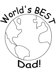 security daddy coloring pages dad 5 book