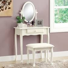 antique vanity set furniture. antique white vanity set with stool | shopping - the furniture p