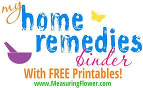 My Home Remedies Binder Plus Free Printables Measuring