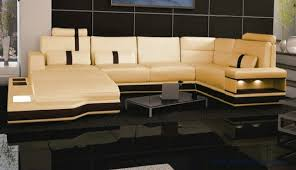 modern couch. Free Shipping Super Large Size Villa Furniture, Genuine Leather Sofa Set Modern Couch S8704