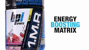 1 m r powerful pre workout powder bpi sports