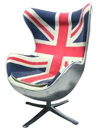 union jack chair union jack furniture egg chair designed made from fibreglass furniture also union jack union jack chair