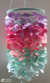 up in the air with this pretty petals chandelier