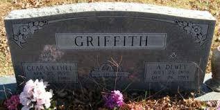 GRIFFITH, A. DEWEY - Washington County, Arkansas   A. DEWEY GRIFFITH -  Arkansas Gravestone Photos