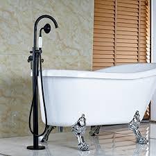 oil rubbed bronze freestanding tub filler. votamuta-oil-rubbed-bronze-new-floor-mounted-bathroom- oil rubbed bronze freestanding tub filler p