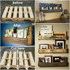 Shelves Made From Pallets Pallet Shelf Ideas An Easy Diy Video Tutorial Pallet Shelves