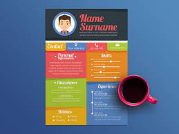 Colorful Resume Templates Delectable Free Colorful Resume Templates By Julian Ma Dribbble