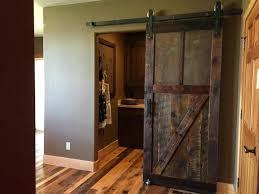 barnwood door sliding barn doors reclaimed door quintessence sliding barnwood door hardware closet set