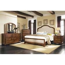 coaster laughton 5 piece upholstered california king panel bedroom set
