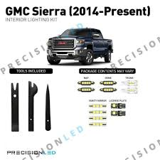 2014 Gmc Sierra Interior Lights Gmc Sierra Led Interior Package 2014 Present