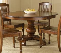 plain with wood to round wood dining table with leaf o