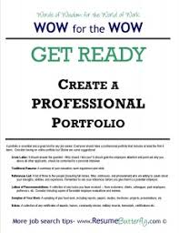 WOW for the Wow - Job Search Skills - Resume Butterfly - Get Ready -  Professional