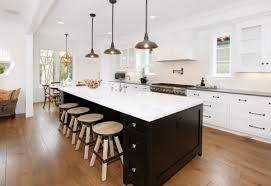 Beautiful Turney Lighting For Modern Home Decoration Ideas: Two Tone Kitchen  Cabinets And Large Kitchen