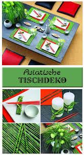 Asiatische Tischdeko Bastelideen Diy Asiatische Dekoration