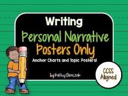 Personal Narrative Anchor Chart Teaching Resources